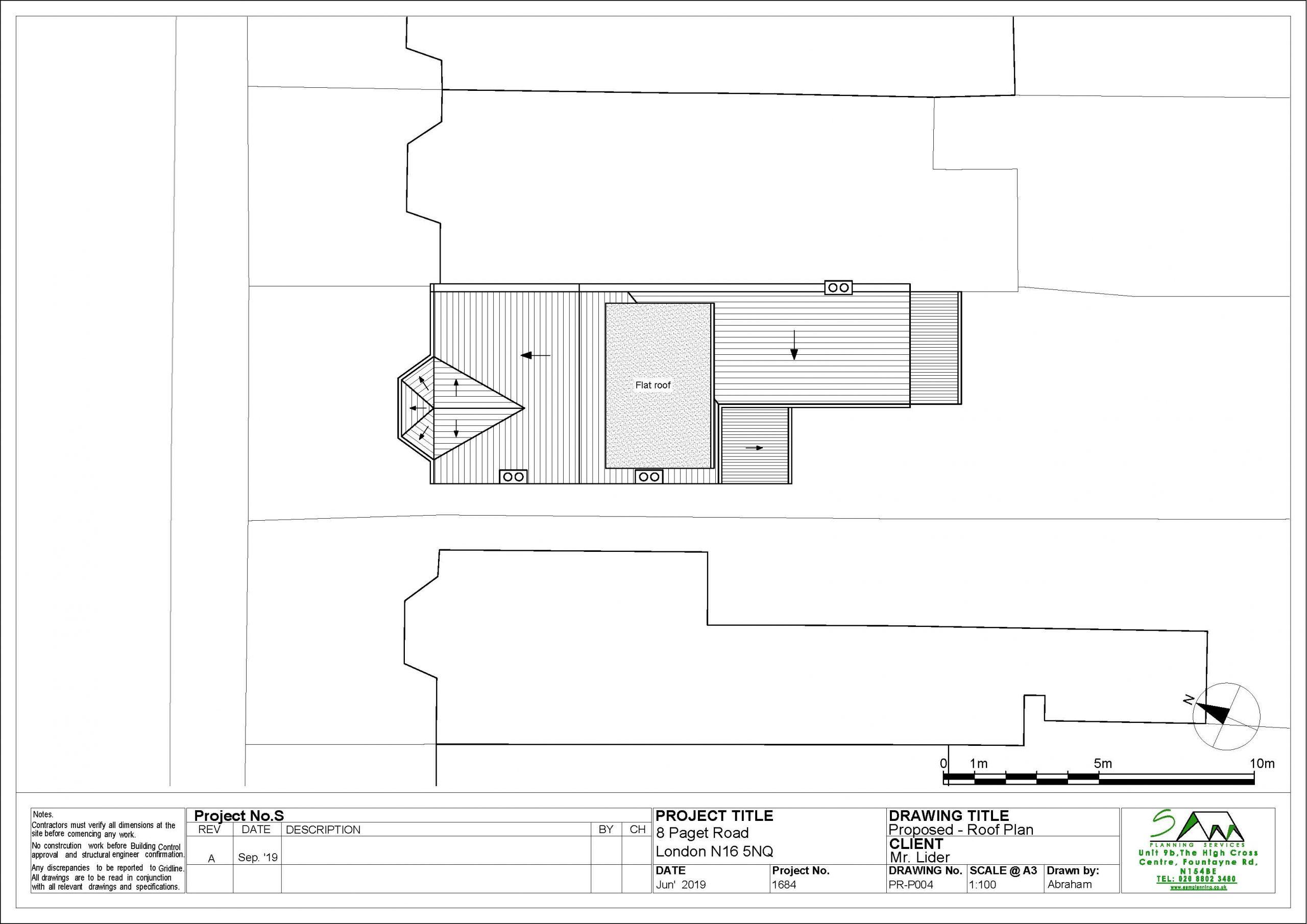 8pagetProposed Roof plan rev A