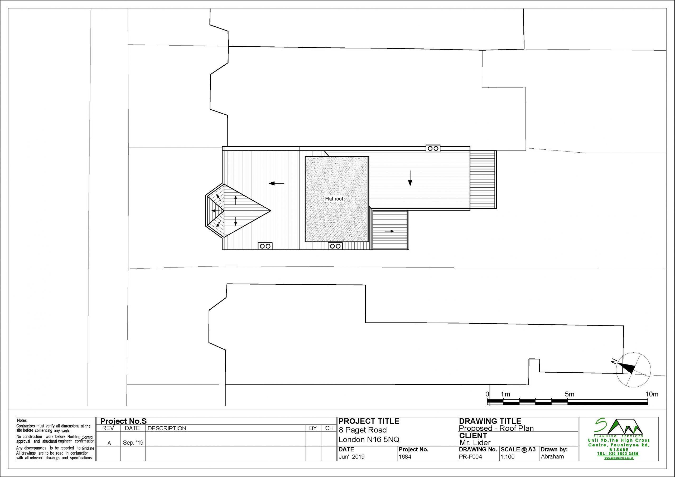 8pagetProposed Roof plan
