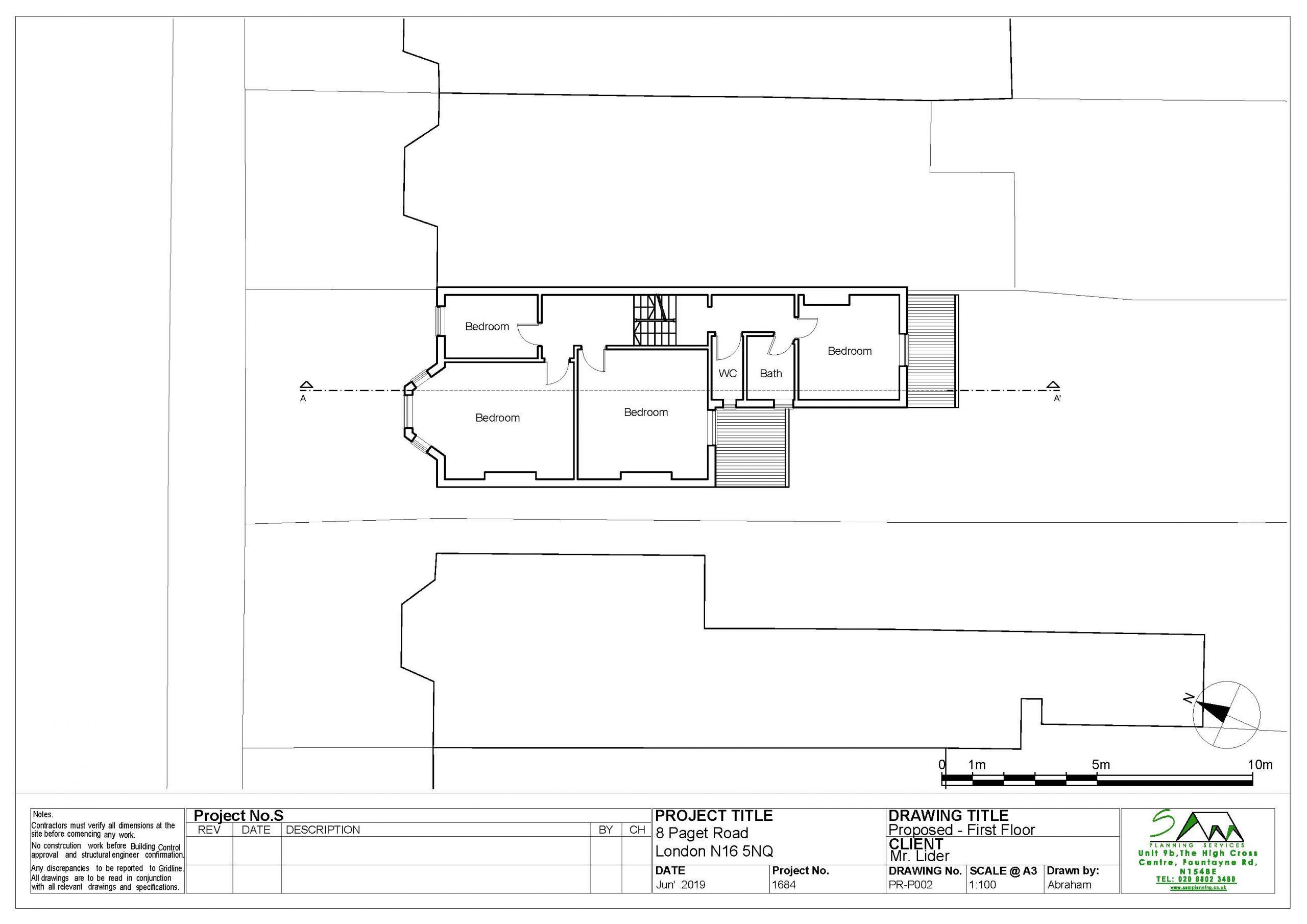 8pagetProposed first floor