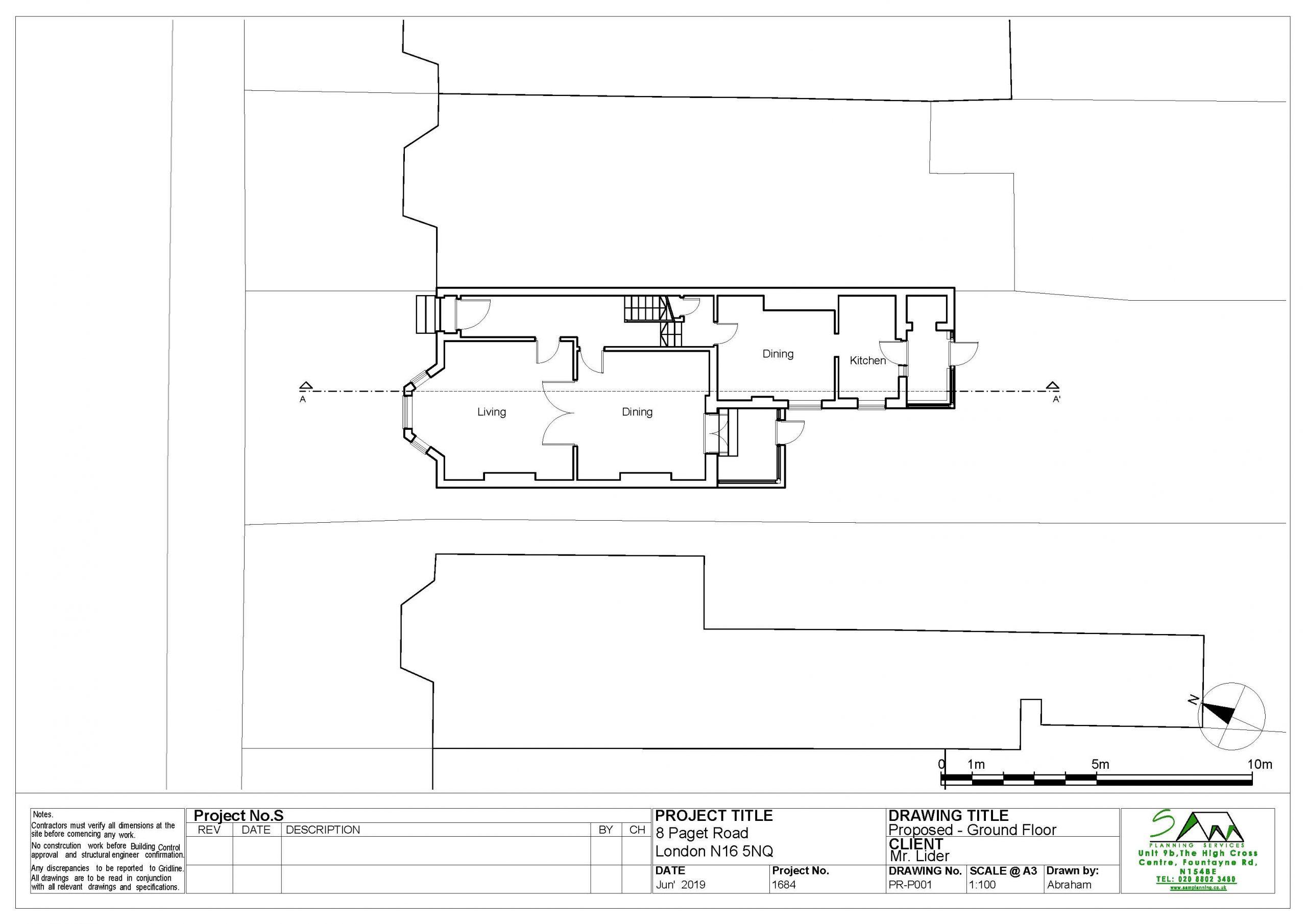 8pagetProposed ground floor